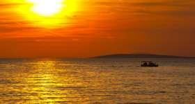 povljana-sunset