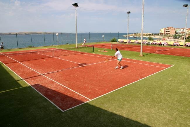 povljana tennis