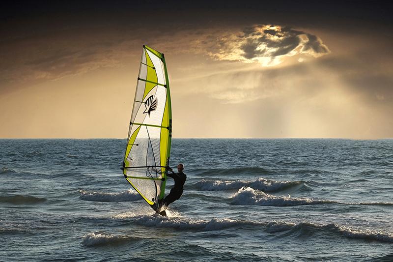 windsurfing povljana pag